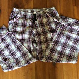 Victoria's Secret Pajama Pants Size Large